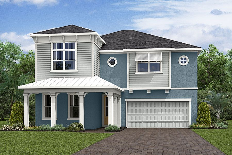 Exterior featured in the Cabo 2 By Mattamy Homes in Orlando, FL