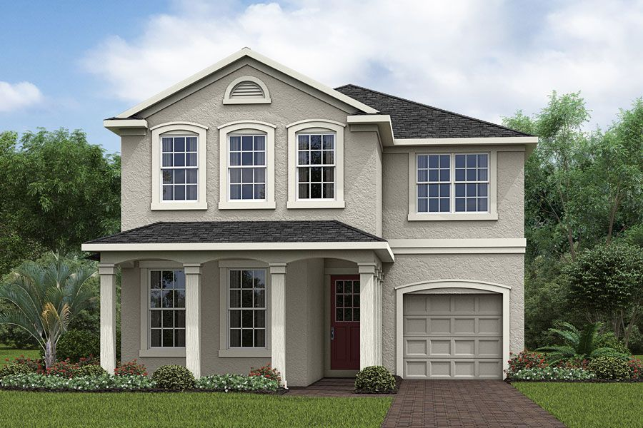 Exterior featured in the Malibu 2 By Mattamy Homes in Orlando, FL