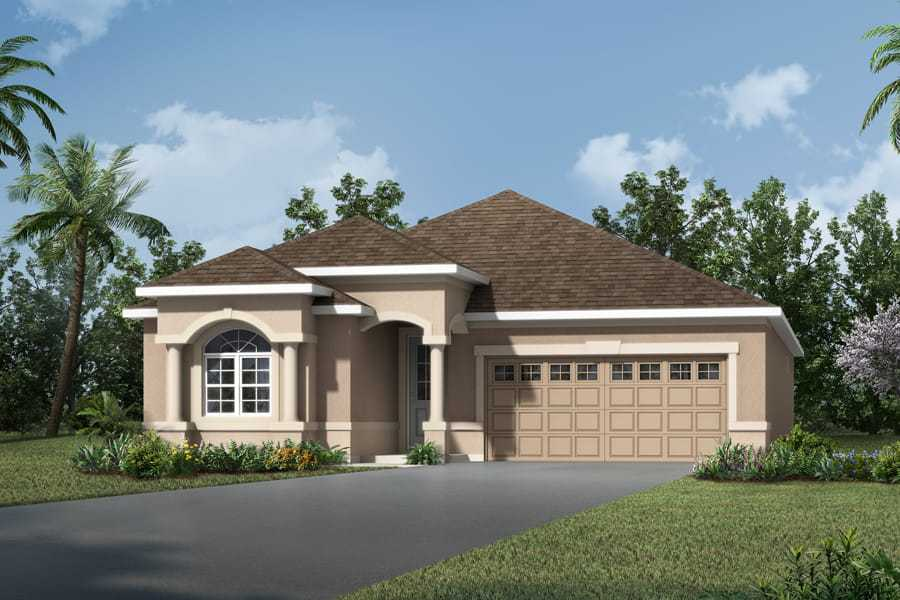 Exterior featured in the Crescent By Mattamy Homes in Orlando, FL
