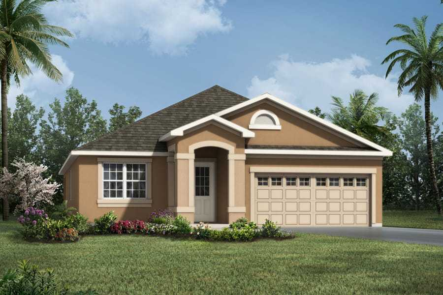 Exterior featured in the Emma By Mattamy Homes in Orlando, FL
