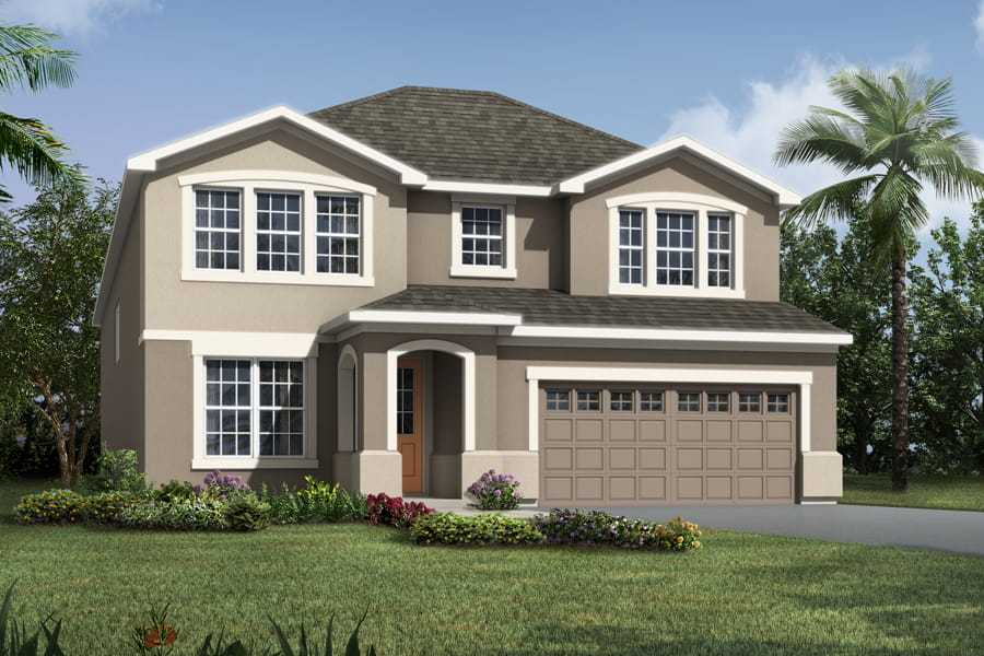 Exterior featured in the Griffin By Mattamy Homes in Orlando, FL
