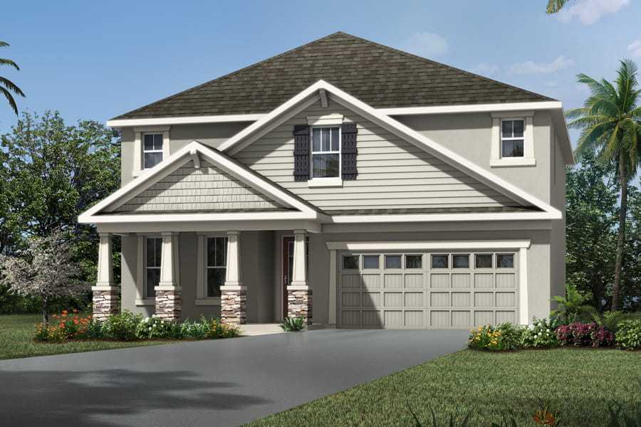 Exterior featured in the Louisa By Mattamy Homes in Orlando, FL