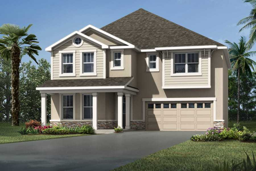 Exterior featured in the Lucy By Mattamy Homes in Orlando, FL