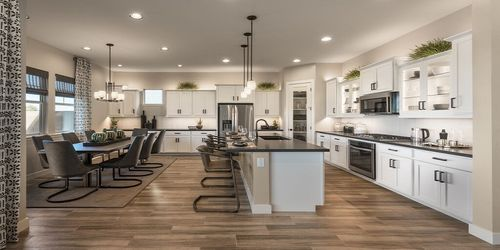 Kitchen-in-Campbell-at-Retreats at Haven-in-Chandler