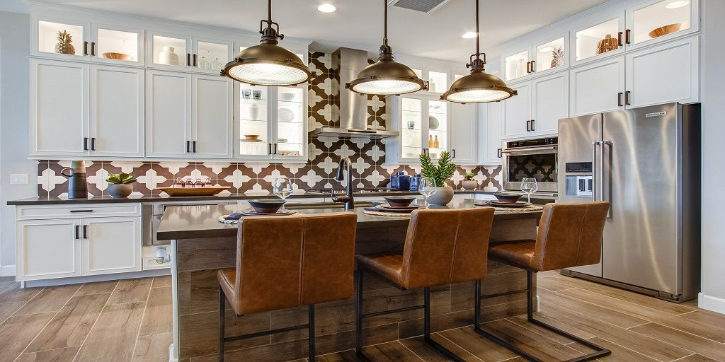 Kitchen-in-Aries-at-Reflection Bay at Estrella-in-Goodyear