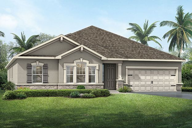 Exterior:Coquina - French Country
