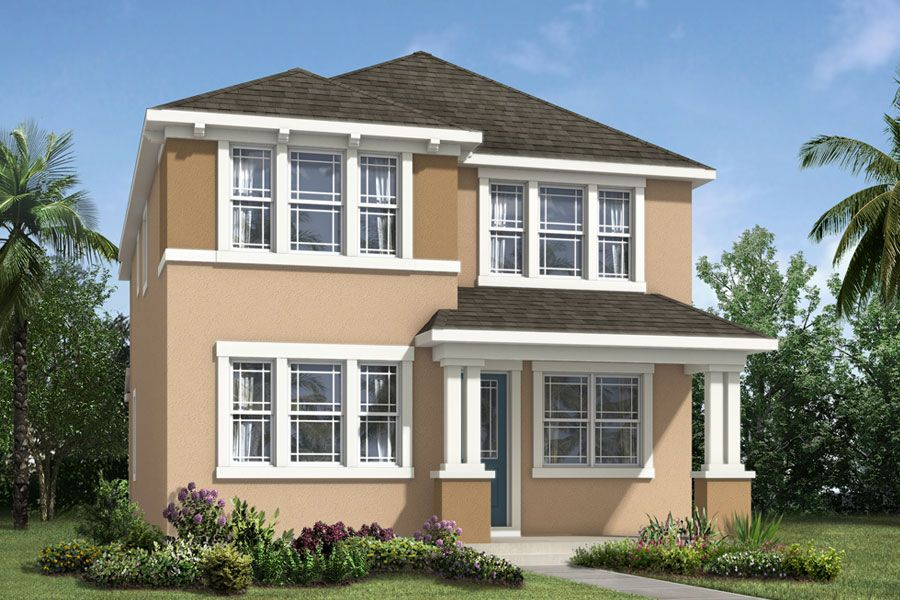 Exterior featured in the Newbury By Mattamy Homes in Orlando, FL