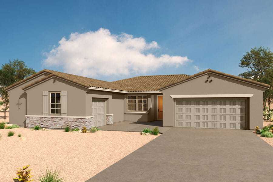 Exterior featured in the Echo By Mattamy Homes in Tucson, AZ