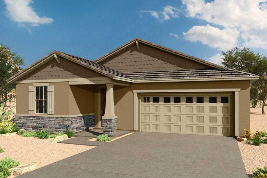 Exterior featured in the Emory By Mattamy Homes in Tucson, AZ