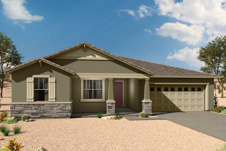 Exterior featured in the Jade By Mattamy Homes in Tucson, AZ