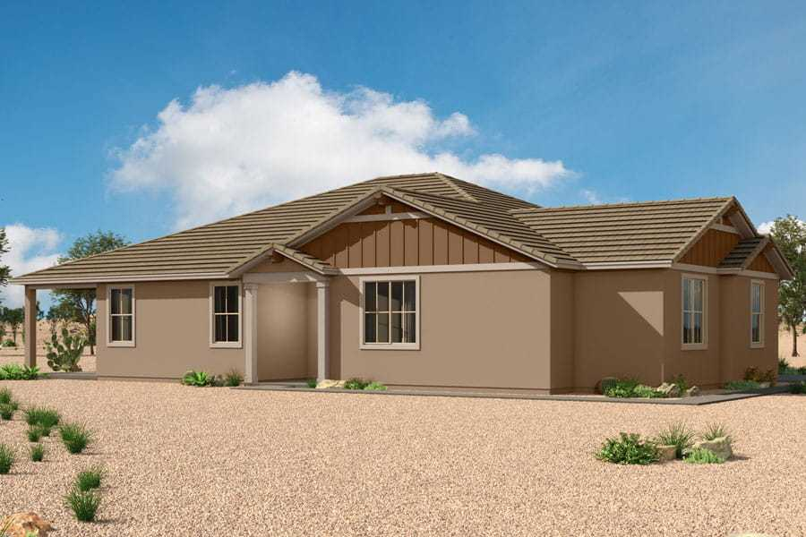 Exterior featured in the Senita By Mattamy Homes in Tucson, AZ