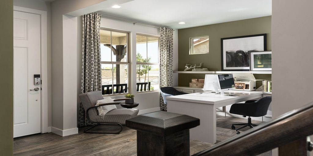 Living Area featured in the osborn By Mattamy Homes in Phoenix-Mesa, AZ