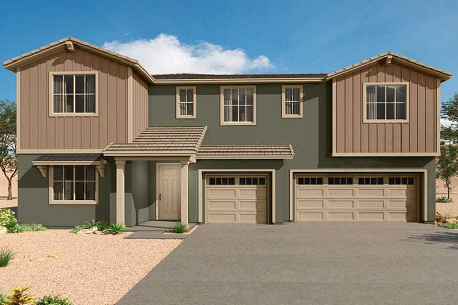 Exterior featured in the Sophora By Mattamy Homes in Tucson, AZ