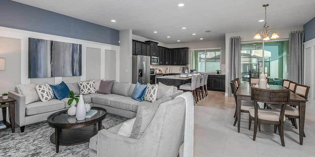 Living Area featured in the Clearwater By Mattamy Homes in Orlando, FL