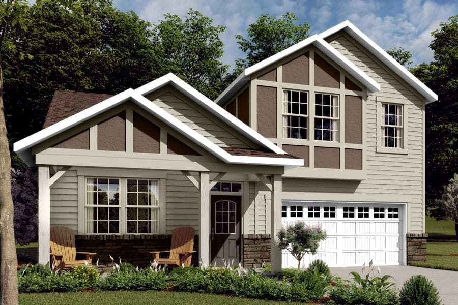 Exterior featured in the Amelia By Mattamy Homes in Charlotte, NC