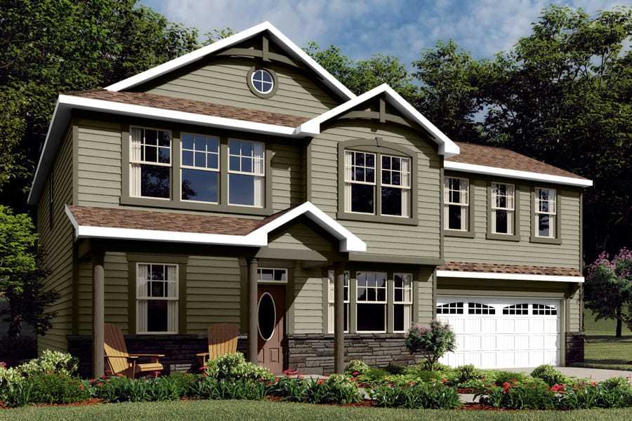 Exterior featured in the Cameron By Mattamy Homes in Charlotte, NC