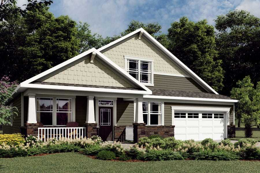Exterior featured in the Caroline By Mattamy Homes in Charlotte, NC