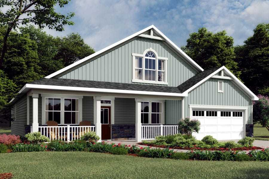 Exterior featured in the Jaxson By Mattamy Homes in Charlotte, NC