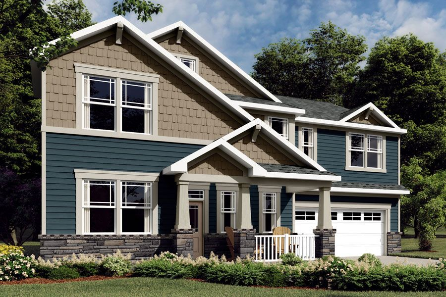 Exterior featured in the Parker By Mattamy Homes in Charlotte, NC