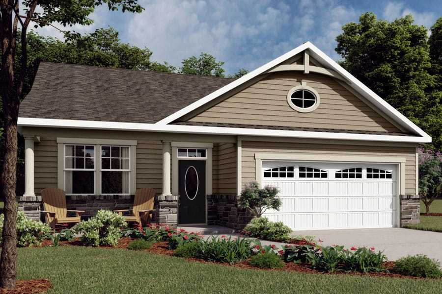 Exterior featured in the Evelyn By Mattamy Homes in Charlotte, NC