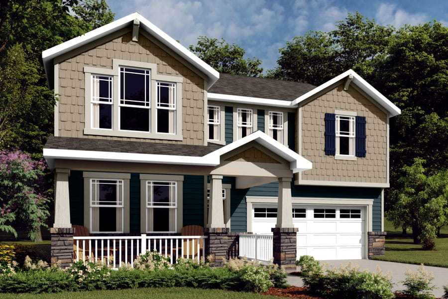 Exterior featured in the Gaines By Mattamy Homes in Charlotte, NC