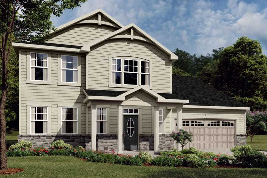 Exterior featured in the Winston By Mattamy Homes in Charlotte, NC