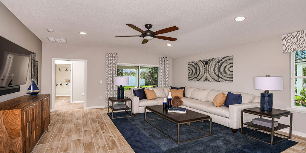 Living Area featured in the Carrabelle By Mattamy Homes in Jacksonville-St. Augustine, FL