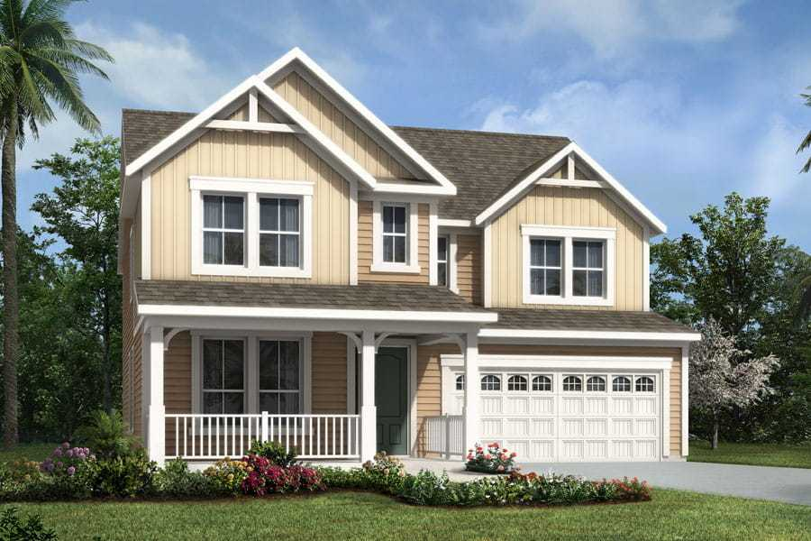 Exterior featured in the Tradewind By Mattamy Homes in Jacksonville-St. Augustine, FL