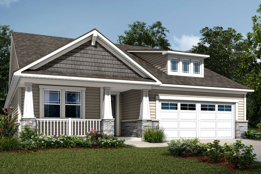 Exterior featured in the Cole By Mattamy Homes in Charlotte, SC