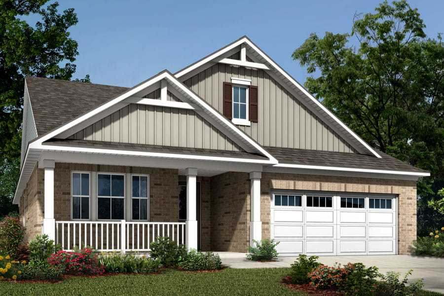 Exterior featured in the Cole By Mattamy Homes in Charlotte, NC