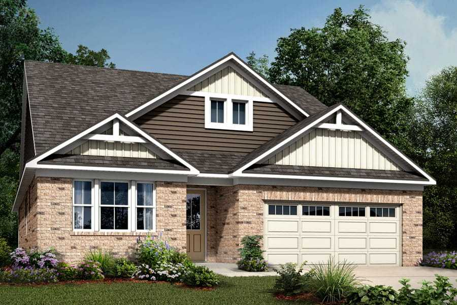 Exterior featured in the Tucker By Mattamy Homes in Charlotte, NC