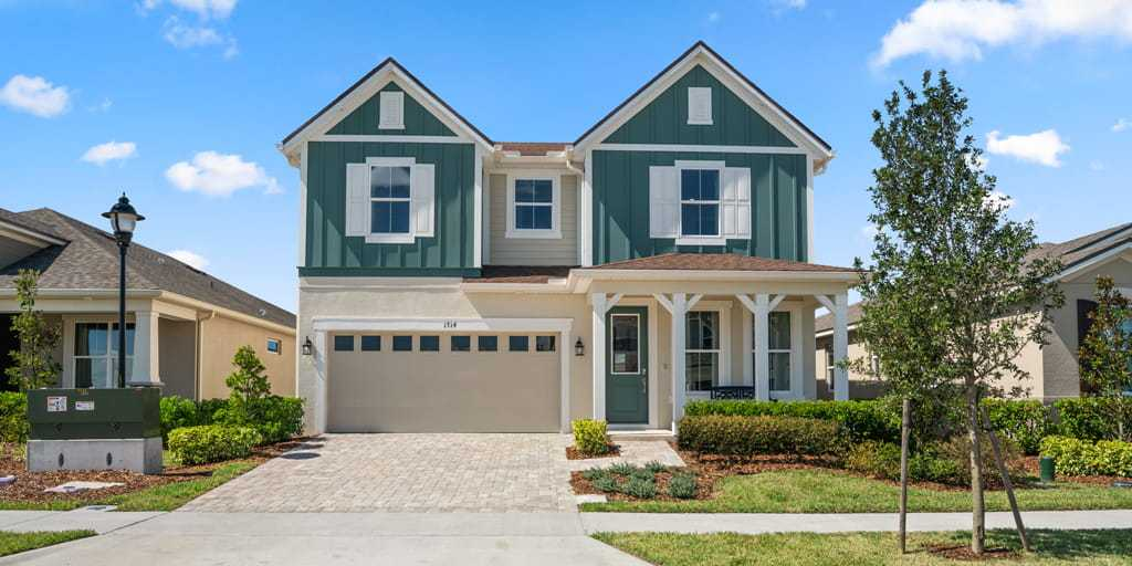Exterior featured in the Cannon By Mattamy Homes in Orlando, FL