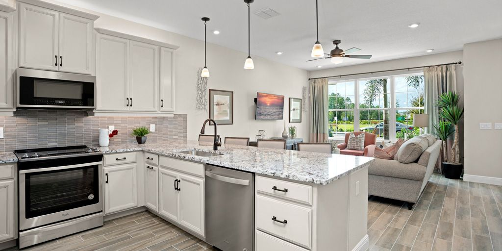 Kitchen featured in the Amber By Mattamy Homes in Orlando, FL