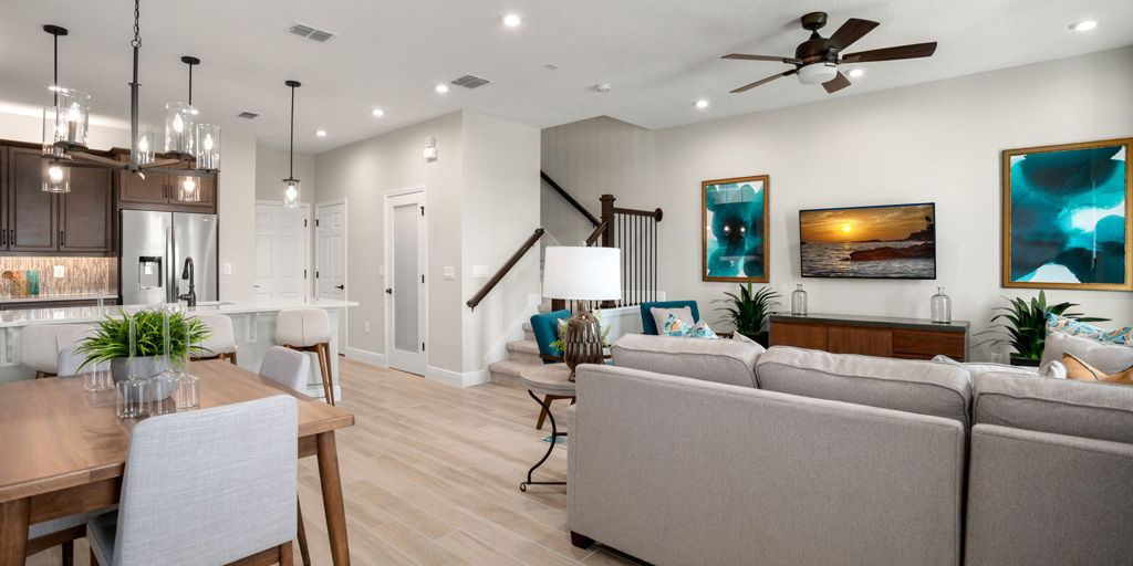 Living Area featured in the Dancy By Mattamy Homes in Orlando, FL