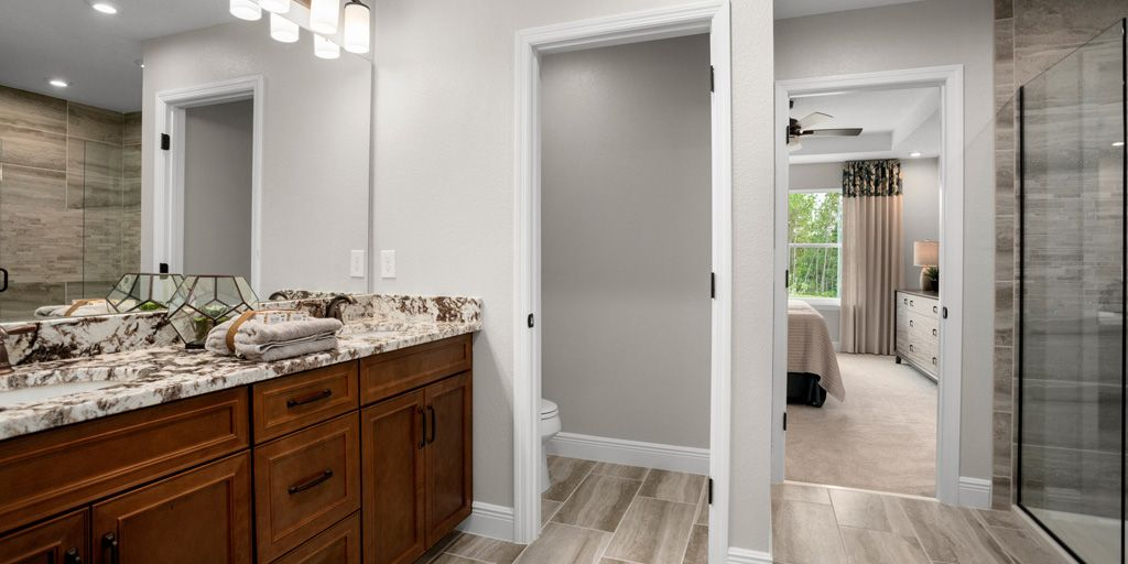 Bathroom featured in the Dancy By Mattamy Homes in Orlando, FL