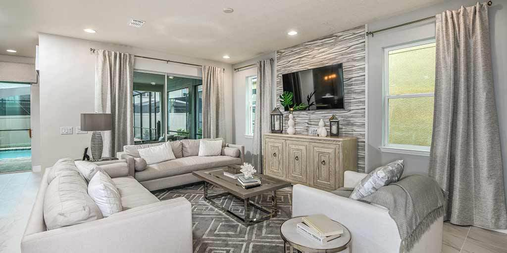 Living Area featured in the Laguna 2 By Mattamy Homes in Orlando, FL