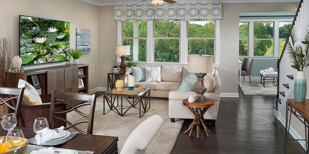 Living Area featured in the Presley By Mattamy Homes in Charlotte, SC
