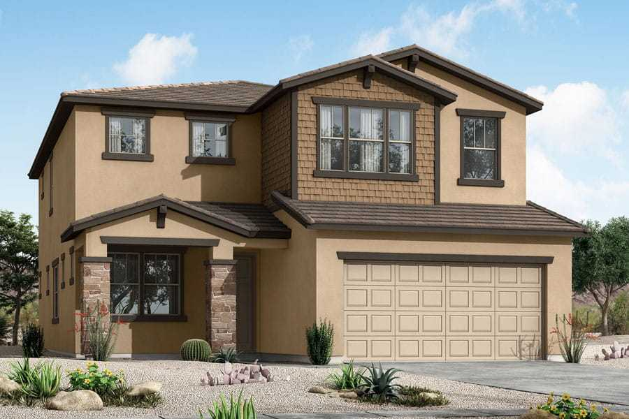 Exterior featured in the osborn By Mattamy Homes in Phoenix-Mesa, AZ