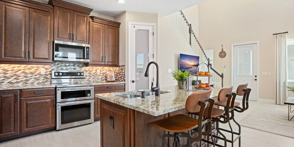 Kitchen featured in the Glencoe By Mattamy Homes in Orlando, FL