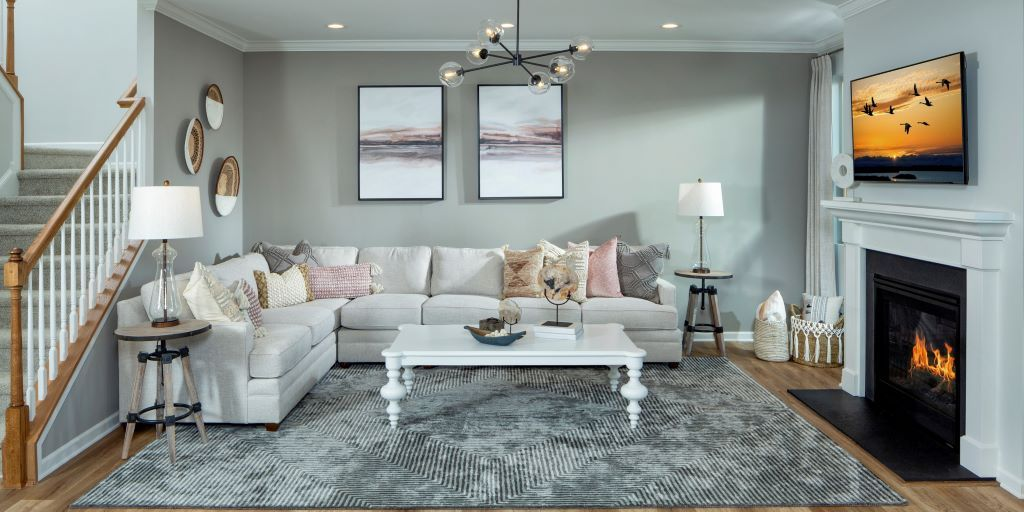 Living Area featured in the Parker By Mattamy Homes in Charlotte, NC