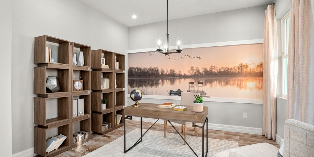 Living Area featured in the Newbury By Mattamy Homes in Orlando, FL