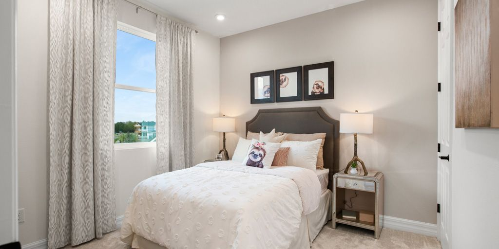 Bedroom featured in the Newbury By Mattamy Homes in Orlando, FL