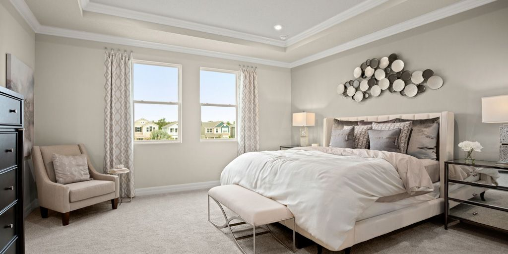 Bedroom featured in the Winthrop By Mattamy Homes in Orlando, FL