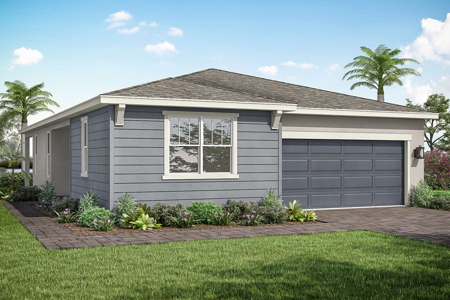 Exterior featured in the Lilac By Mattamy Homes in Palm Beach County, FL