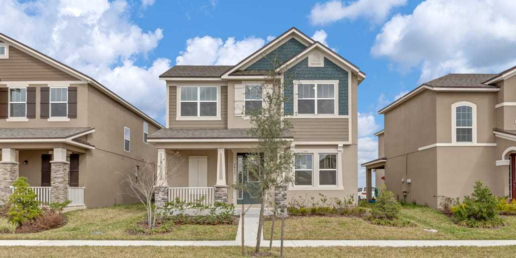 Exterior featured in the Fremont By Mattamy Homes in Orlando, FL