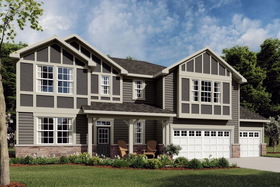 Exterior featured in the Marshall By Mattamy Homes in Charlotte, NC