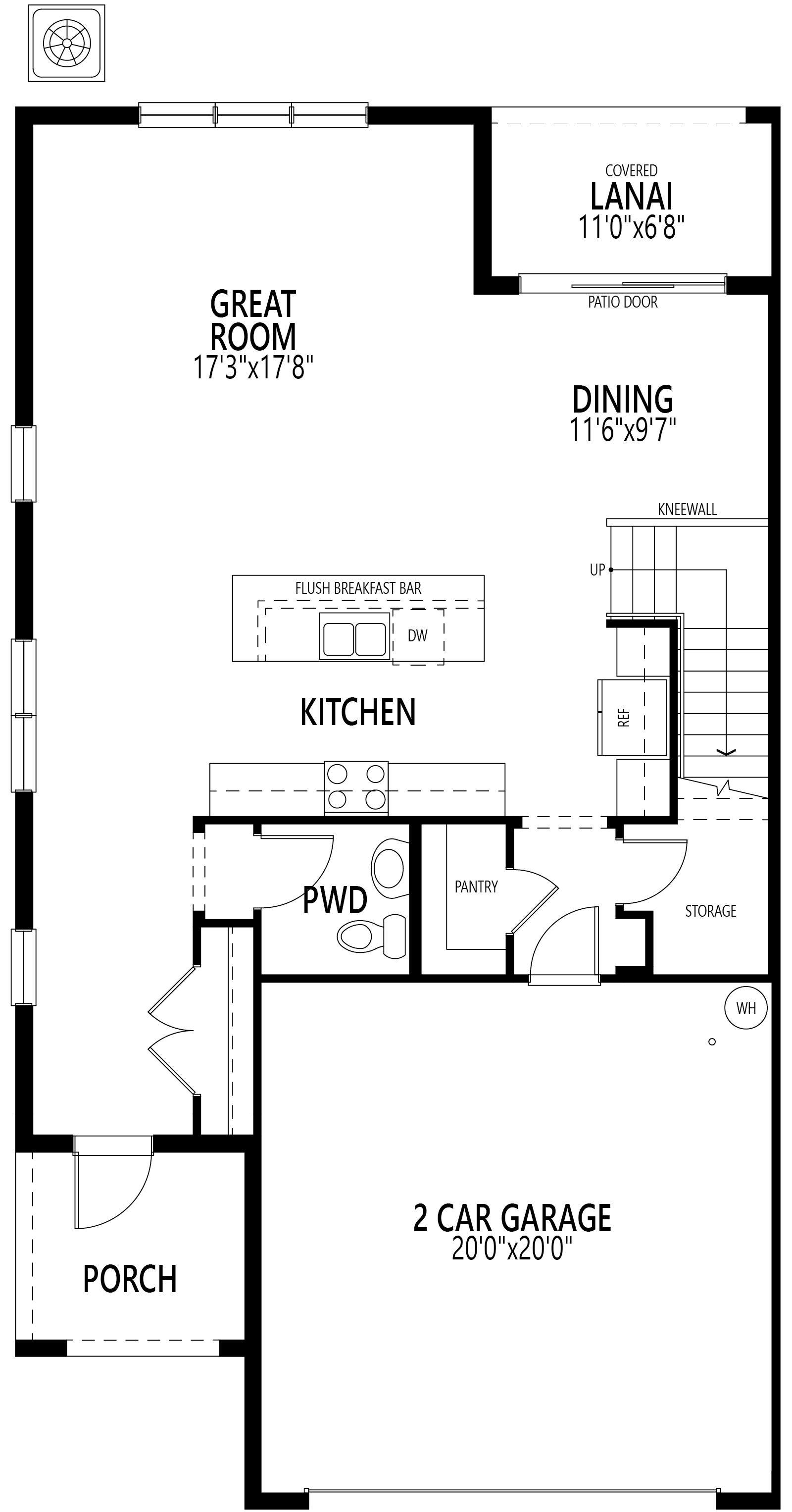 Sunbrooke:Ground Floor Plan