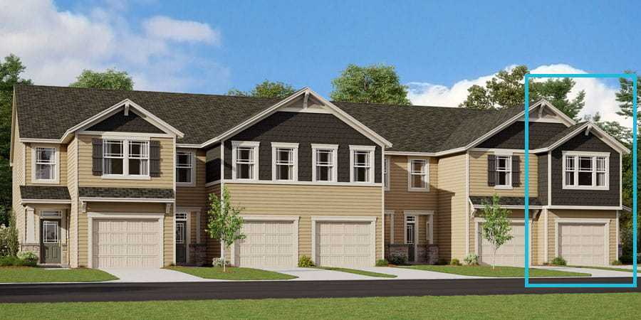 Exterior featured in the Amira By Mattamy Homes in Charlotte, NC