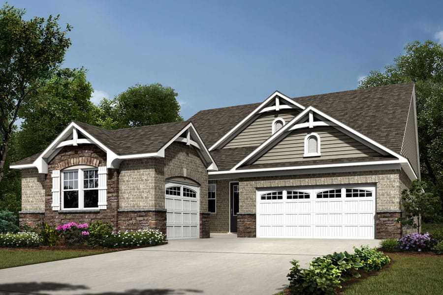 Exterior featured in the Astaire By Mattamy Homes in Charlotte, NC