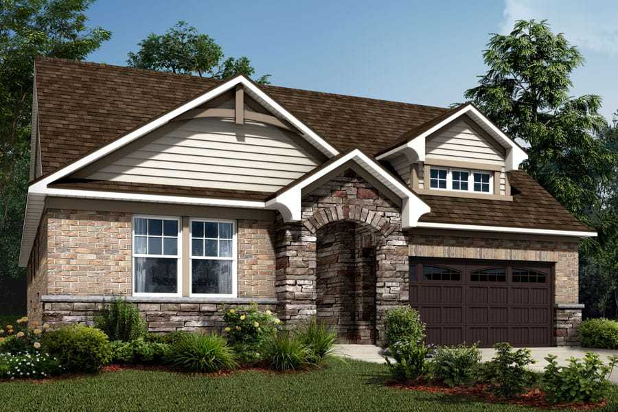 Exterior featured in the Bexley By Mattamy Homes in Charlotte, NC
